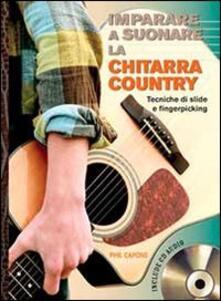 Antondemarirreguera.es Imparare a suonare la chitarra country. Con CD Audio Image