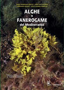 Alghe e fanerogame del Mediterraneo - copertina