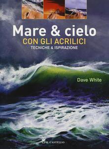 Squillogame.it Mare & cielo con gli acrilici. Tecniche & ispirazione Image