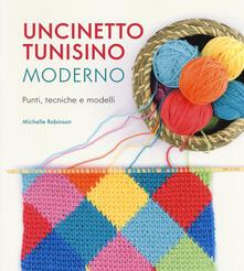 Uncinetto tunisino moderno. Punti, tecniche e modelli.pdf