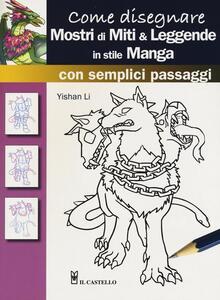 Come disegnare mostri di miti & leggende in stile manga con semplici passaggi