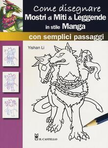 Listadelpopolo.it Come disegnare mostri di miti & leggende in stile manga con semplici passaggi Image