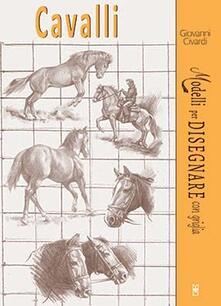 Ascotcamogli.it Cavalli. Modelli per disegnare con griglia Image