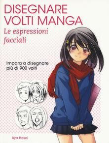 Winniearcher.com Disegnare volti manga. Le espressioni facciali Image