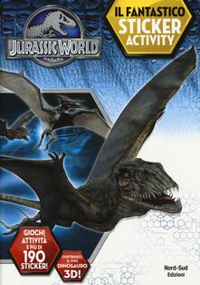 Winniearcher.com Jurassic world. Il fantastico sticker activity. Ediz. illustrata Image