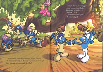 Libro Benvenuti nella foresta. Viaggio nella foresta segreta. I puffi. Ediz. a colori Peyo 2