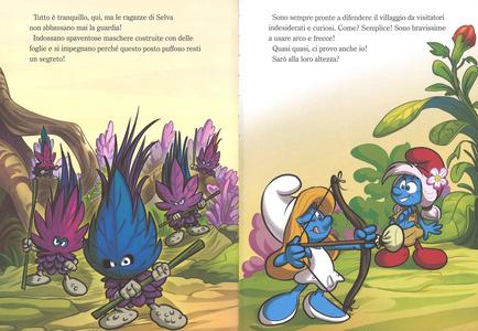 Libro Benvenuti nella foresta. Viaggio nella foresta segreta. I puffi. Ediz. a colori Peyo 4