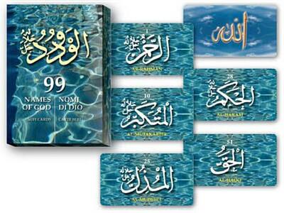 99 nomi di Dio. Carte Sufi. Ediz. multilingue