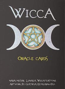 Secchiarapita.it Wicca. Oracle cards. Con 32 carte. Ediz. multilingue Image