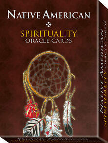 Camfeed.it Native American. Oracle cards. Con 33 carte Image