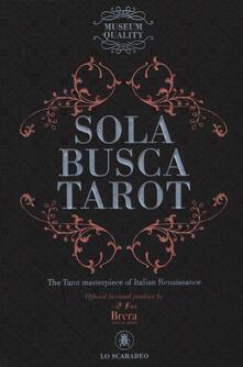 Collegiomercanzia.it Sola Busca Tarot. History mysteries alchemy. Ediz. multilingue. Con Libro in brossura Image
