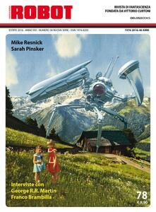 Ristorantezintonio.it Robot. Rivista di fantascienza (2016). Vol. 78 Image