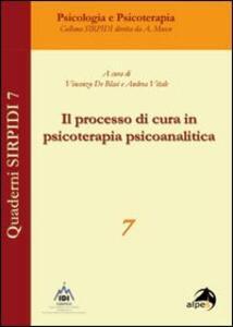 Il processo di in psicoterapia psicoanalitica