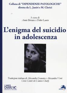 Associazionelabirinto.it L' enigma del suicidio in adolescenza Image