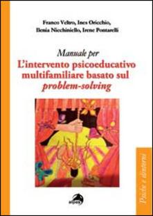L' intervento psicoeducativo multifamiliare basato sul problem-solving - copertina