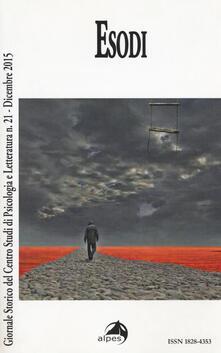 Camfeed.it Giornale storico del centro studi di psicologia e letteratura. Vol. 21: Esodi. Image