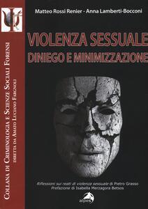 Violenza sessuale. Diniego e minimizzazione