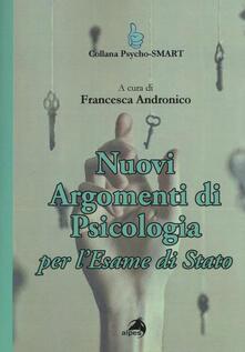 Antondemarirreguera.es Nuovi argomenti di psicologia. Per l'esame di Stato Image