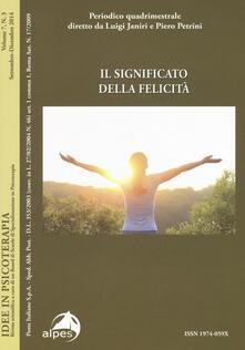 Winniearcher.com Idee in psicoterapia. Vol. 7\3: Il significato della felicità. Image