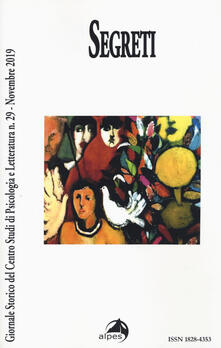 Filmarelalterita.it Giornale storico del centro studi di psicologia e letteratura (2019). Vol. 29: Segreti (Novembre). Image