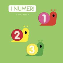 I numeri - Xavier Deneux - copertina