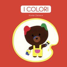 I colori - Xavier Deneux - copertina