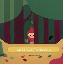 Cappuccetto rosso - Xavier Deneux - copertina