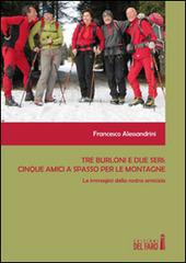 Tre burloni e due seri. Cinque amici a spasso per le montagne. Le immagini della nostra amicizia