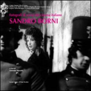 Libro Fotografi di scena. Sandro Borni