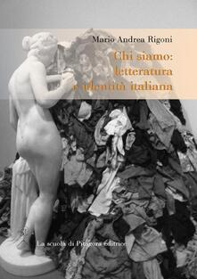 Scacciamoli.it Chi siamo. Letteratura e identità italiana Image