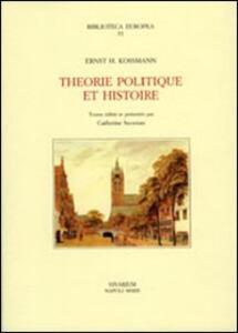 Theorie politique et histoire