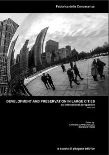 Development and preservation in large cities. An international perspective