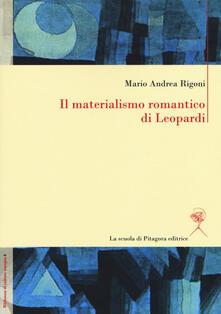 Filippodegasperi.it Il materialismo romantico di Leopardi Image