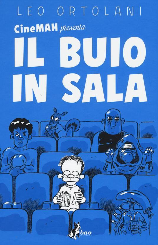 CineMAH presenta Il buio in sala - Leo Ortolani - copertina