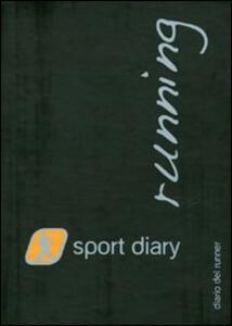 Sport diary running. Diario del runner