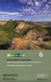 Alta via dei parchi 1:50.000. Vol. 6: Appennino faentino. Parco regionale Vena del Gesso Romagnola.
