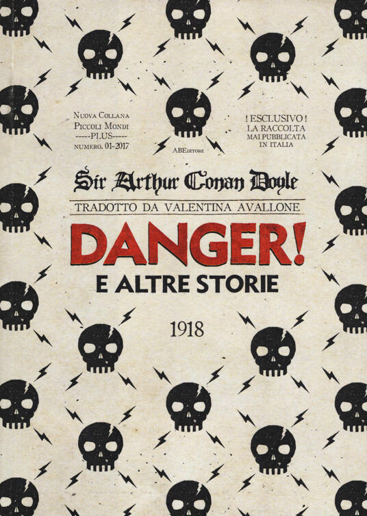 Danger! e le altre storie - Arthur Conan Doyle - copertina