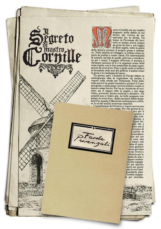 Favole provenzali - Alphonse Daudet - copertina