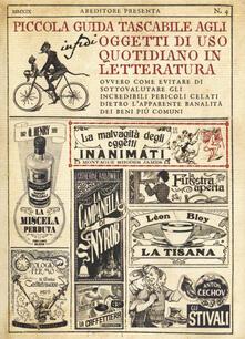 Antondemarirreguera.es Piccola guida tascabile agli oggetti di uso quotidiano in letteratura Image