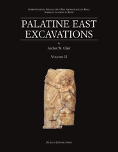 Palatine East Excavations. Vol. 2: The Finds.
