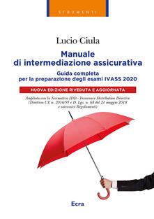 Manuale di intermediazione assicurativa per lesame Ivass 2020.pdf