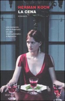 La cena - Herman Koch - copertina
