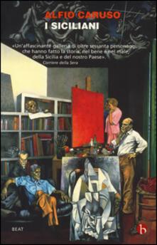 I siciliani - Alfio Caruso - copertina