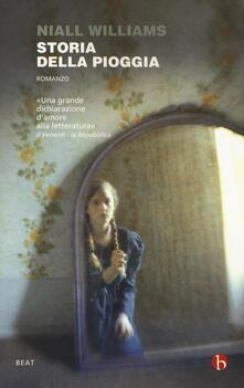 Storia della pioggia - Niall Williams - copertina