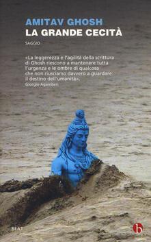 La grande cecità. Il cambiamento climatico e l'impensabile - Amitav Ghosh - copertina