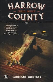 Harrow County. Vol. 1: Spiriti infiniti. - Cullen Bunn,Tyler Crook - copertina