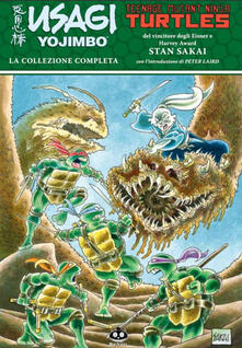 Tegliowinterrun.it Usagi Yojimbo. Teenage Mutant Ninja Turtles. La collezione completa Image