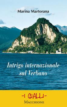 Intrigo internazionale sul Verbano - Marina Martorana - copertina