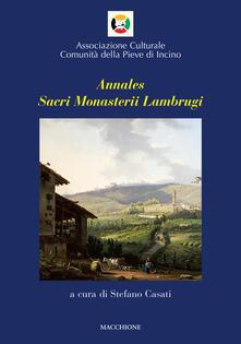 Squillogame.it Annales sacri Monasterii Lambrugi. Vol. 2 Image