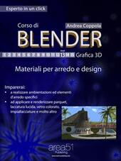 Corso di Blender. Grafica 3D. Vol. 13